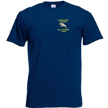 575 Fld Sqn Embroidered T-shirt